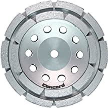 "Concord Blades GCD070FHP 7 Inch Double Rowed Diamond Cup Wheel with 5/8""-11 Thread"