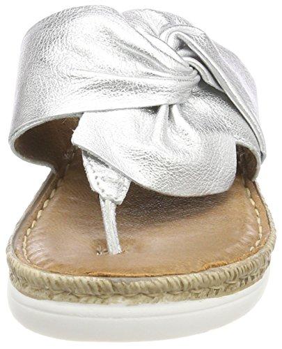 Damen MARCO Pantoletten 27212 Silver Silber TOZZI Cgqgv5w1xB