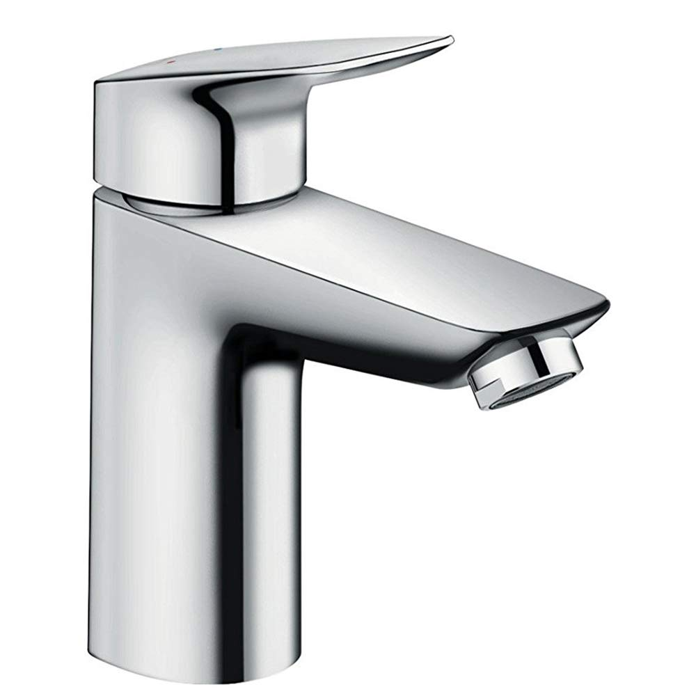 hansgrohe Logis basin mixer tap 70 with push open waste, chrome 71077000