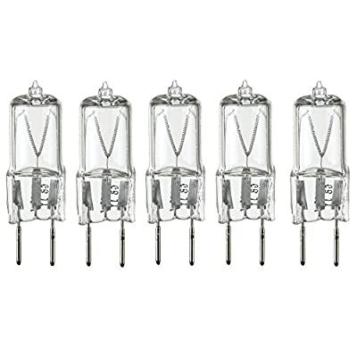 LSE Lighting 5 Pack - 20 Watt Xenon G8 20w 20 watt 120V T4 Light Bulbs JCD 120 Volt: Home Improvement
