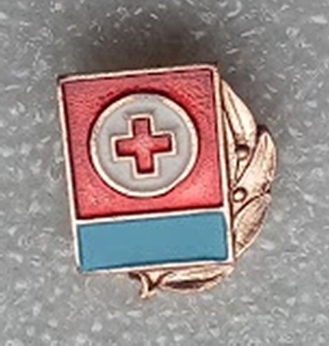 Red Cross Society of the Ukrainian SSR USSR Soviet Union Russian Historical Cold war era Pin badge