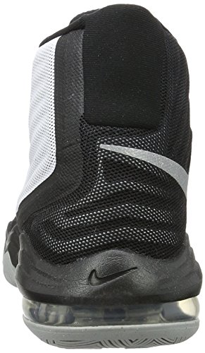 Nike Herren Air Max Audacity 2016 Basketballschuh Weiß / Rflct Silber Blk Wlf Gry