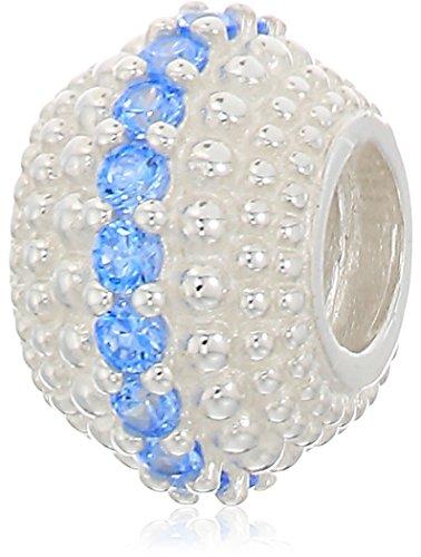 chamilia one thousand sparkles - arctic blue swarovski zirconia (Chamilia Bead Jewelry)