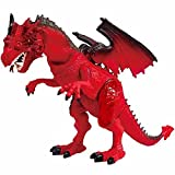 Dragon-I Mighty Megasaur Lights and Sound Dragon, Multi Color