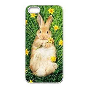 Cute rabbit DIY for Case For Sam Sung Galaxy S4 Mini Cover LMc-35904 at LaiMc