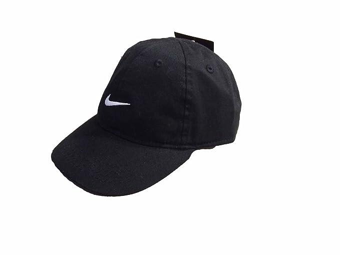 12de017d496 ... france little boys nike adjustable cotton cap 4 7 black white swoosh  134c7 f425e