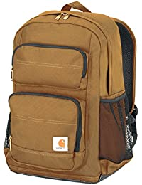 Legacy Standard Work Backpack with Padded Laptop Sleeve and Tablet Storage, Carhartt Brown