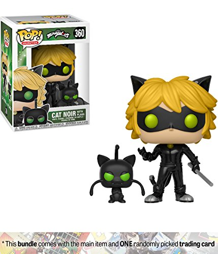 Funko Cat Noir w/Plagg: Miraculous - Tales of Ladybug & Cat