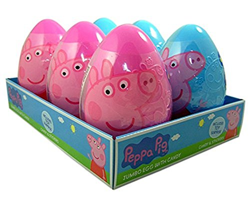 Peppa Pig Jumbo Egg with Candy and Bonus Toy Surprise Easter
