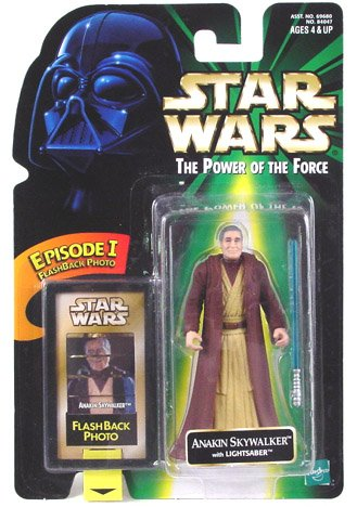 (Star Wars Power of the Force Episode I Anakin Skywalker Flashback Photo with ...)