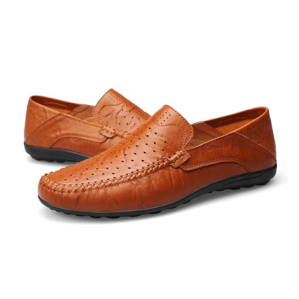 Herren Comfort Comfort Comfort Loafers Leder Frühjahr Sommer   Herbst Komfort Loafers & Slip-Ons Wanderschuhe, Fahrschuhe, Atmungsaktivität Business-Kleid Schuhe ( Farbe   Wie gezeigt , Größe   Einheitsgröße ) c4c673