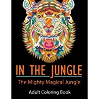 Mix Books In the Jungle Adult Coloring Book