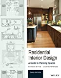 A practical approach to planning residential spaces Residential Interior Design: A Guide To Planning Spaces is the industry-standard reference for all aspects of residential space planning, with a practical focus on accessible design, ergonom...