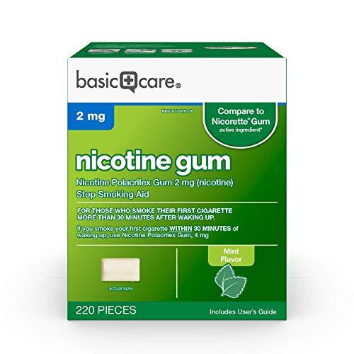Amazon Basic Care Nicotine Polacrilex Gum 2