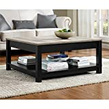 The Gray Barn Latigo Distressed Finish Coffee Table For Sale