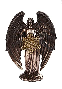PTC Metatron Angel Orthodox Religious Bronze Finish Statue Figurine