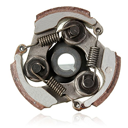 Funnytoday365 2 Stroke 47Cc 49Cc Minimoto Centrifugal Clutch Alloy Mini Moto Dirt Bike Atv Quad 3 Shoe Spring