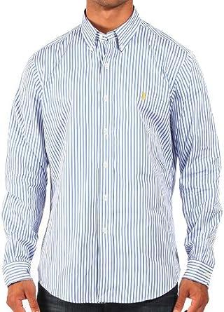 Ralph Lauren - Camisa casual - para hombre azul/blanco 34/35 ...