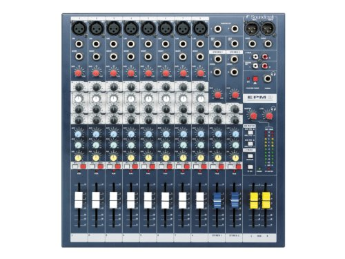 Soundcraft Mixer - Unpowered, 8 + 2 channels (EPM8)