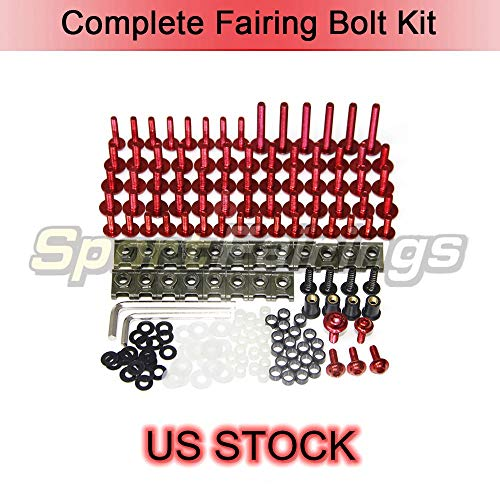 US Stock Full Fairing Bolts Kit Screws For Ducati 996 748 916 998 Year 1996-2002 Fasteners Hardware Motorcycle Body Cover -