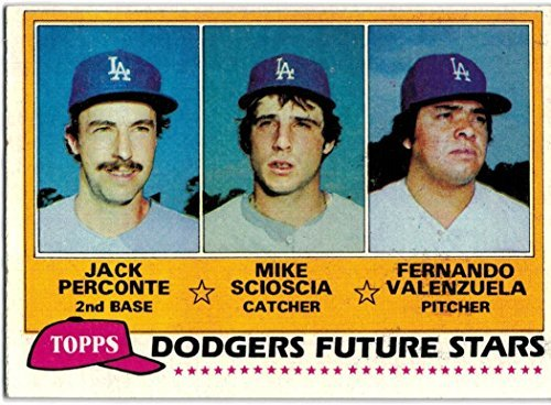 1981 World Series - 1981 Topps Los Angeles Dodgers Team Set with Fernando Valenzuela RC -- 1981 World Series Champions - 29 Cards
