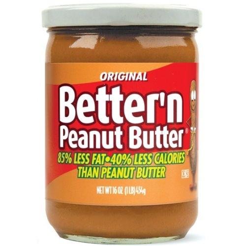 Better Butter - Better Peanut Spread, Original, 16 Ounce (Pack of 3)
