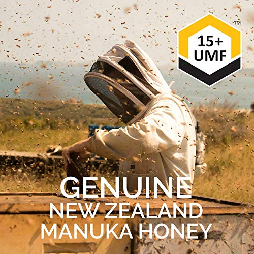 Manukora UMF 15+/MGO 500+ Raw Mānuka Honey (250g/8.8oz) Authentic Non-GMO New Zealand Honey, UMF & MGO Certified, Traceable from Hive to Hand by Manukora (Image #5)