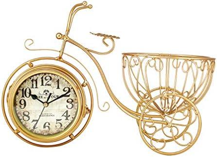 VOSAREA Reloj de Bicicleta Vintage Reloj de Bicicleta rústico ...