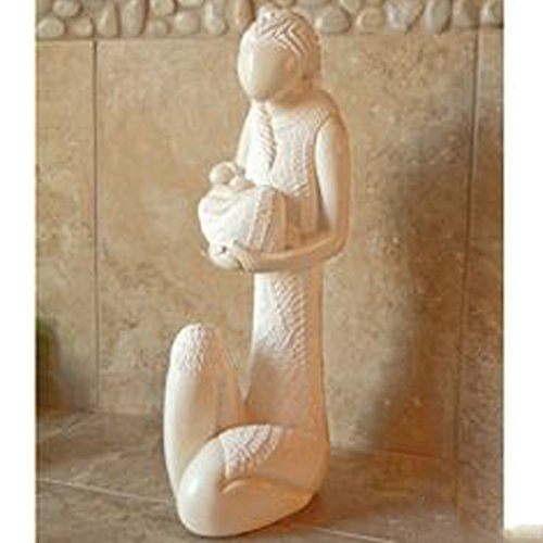 Mother and Child Stone Sculpture