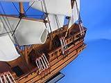 "Spanish Galleon 20"" - Wooden Tall Ship - Model Boat - Wood Ship Model"