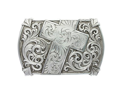 Montana Silversmiths Antiqued Walk of Faith Buckle (30210RTS)