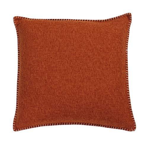 Thro by Marlo Lorenz Throw Pillows Dark Orange [並行輸入品] B07R6ZNTYY