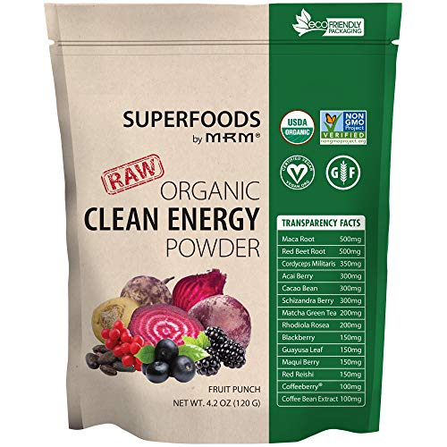 MRM Super Foods Clean Energy Powder, 120 Gram