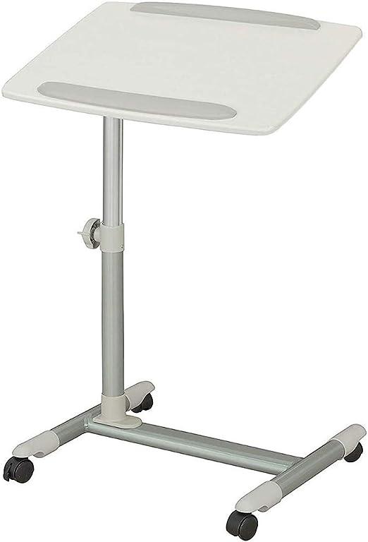 CBHLZ Mesa de enfermería para el hogar Ajustable en Altura móvil ...