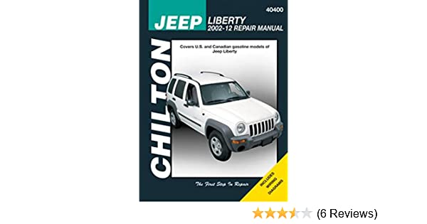 Amazon chilton 40400 jeep liberty repair manual 2002 2012 amazon chilton 40400 jeep liberty repair manual 2002 2012 automotive fandeluxe Gallery