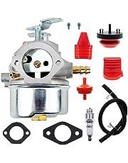 AUTOKAY 640052 Carburetor for Tecumseh HMSK80 HMSK90 8hp 9hp 10hp Shredder 640054 640349 640058 640058A LH358SA Snow Blower Generator Chipper