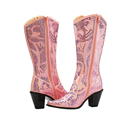 Helens Heart Bling Boots Pink jsyDX3tV
