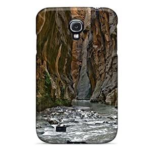 High Quality Canyon Falls Case For Galaxy S4 / Perfect Case