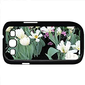 Scents of Spring 40 (Flowers Series) Watercolor style - Case Cover For Samsung Galaxy S3 i9300 (Black)