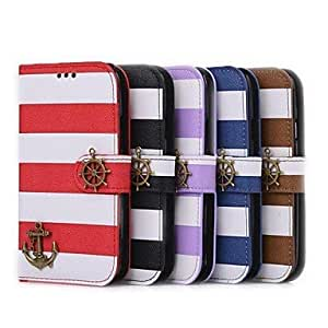 PEACH-ships in 48 hours Pirate Double Color Rainbow Wallet Case for Samsung S3 I9300 , Brown