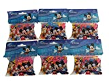 Disney Character Silly Bandz (6pk) 184 Bands Mickey Donald Goofy Pluto Minnie Mouse