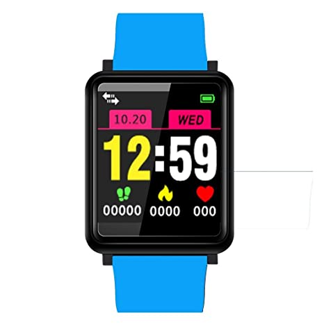 Amazon.com: Miseku Unisex Casual Square Shape Waterproof LCD ...