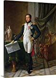 Portrait of Joseph Bonaparte (1768-1844) King of Spain, 1808 (oil on canvas) Gallery-Wrapped Canvas