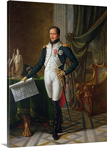 Portrait of Joseph Bonaparte (1768-1844) King of Spain, 1808 (oil on canvas) Gallery-Wrapped Canvas by greatBIGcanvas