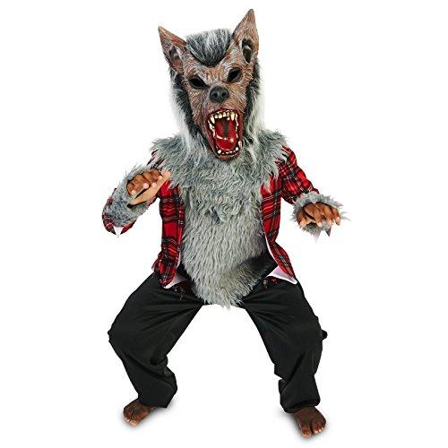 Howling Werewolf Child Costume M (8-10) (Kids Werewolf Costumes)