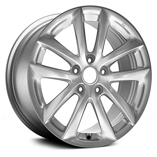 Value 10 Spokes Light Smoked Hyper Silver Factory Alloy Wheel OE Quality Replacement