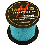 Hercules Braided Fishing Line Pe Dyneema Superline 8 Strands 100m 109yds 10lbs-300lbs