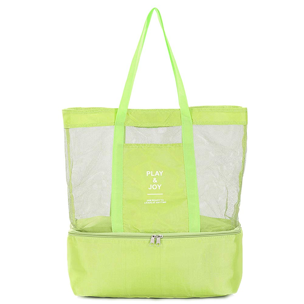 Suitable for Work School Fishing Hiking Tourism Camping Picnic Nylon Beach Tote Bag Insulated Lunch Bag for Women balck