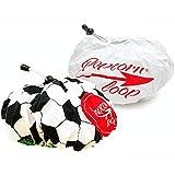 2 x Popcornloop Ersatzhauben Doppelpack Original Design + Fußball Design Geeignet Für Popcornloop 100% Baumwolle Waschmaschinenfest