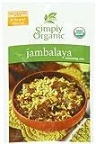 Simply Organic Seasoning Mix Jambalaya, Gluten-free, 0.74 Ounce (Pack of 12)